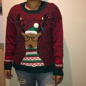 ugly christmas sweater size large